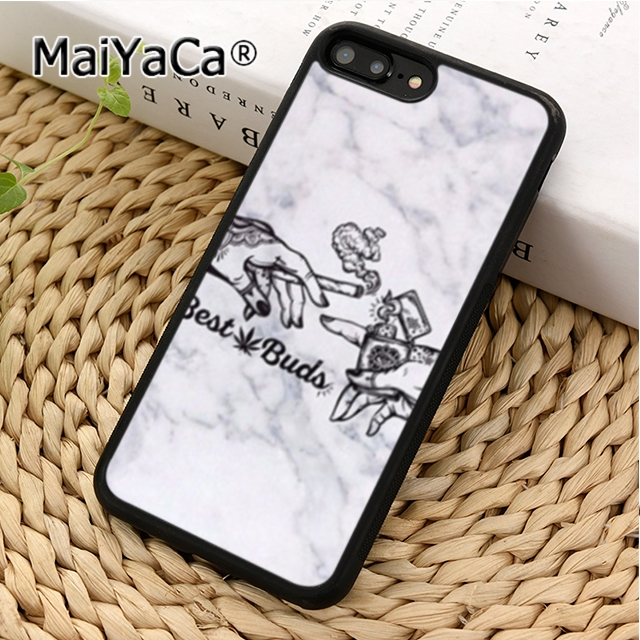 Maiyaca Hand Smoking Weed Best Buds Phone Case Cover For Iphone 5 6s 7 8 Plus 11 12 Pro X Xr Xs Max Samsung Galaxy S7 Edge S8 S9 Phone Case Covers Aliexpress