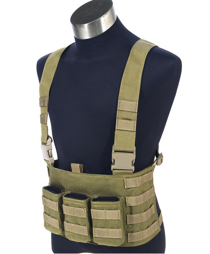 ФОТО In stock  genuine MOLLE FLYYE LAW ENF Chest Rig  Military Tactical Vest VT-C011