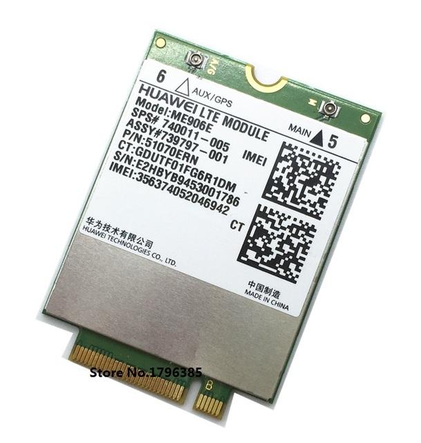Ssea huawei me906e ngff lte/hspa + módulo wcdma fdd 4g wlan sps 740011-005 unlock para hp lt4112
