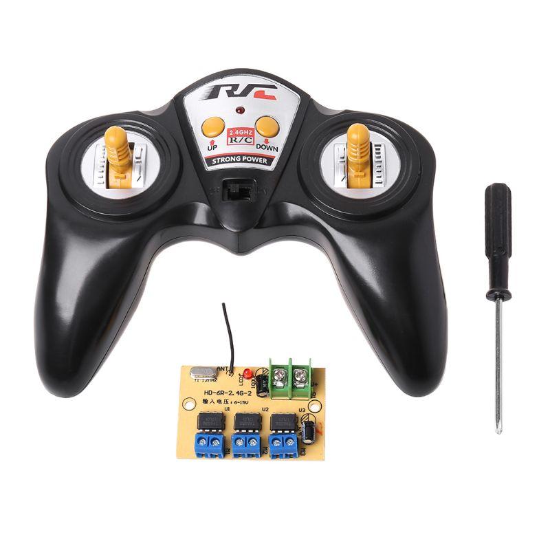 6CH High-power Medidor de Controle Remoto com Receptor 2.4G 50 6-15v para Carro Modelo Modelo do Navio ferramenta DIY