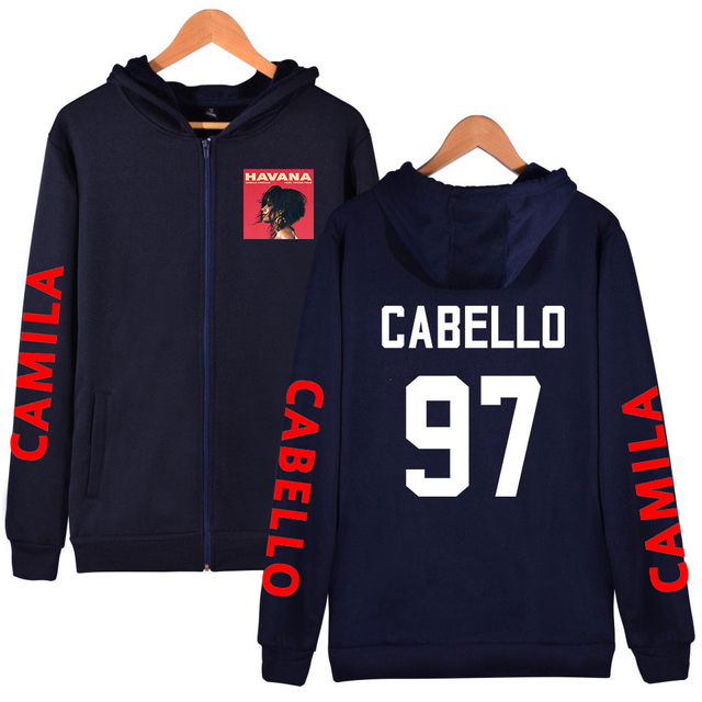 CAMILA CABELLO THEMED ZIP UP HOODIE (15 VARIAN)