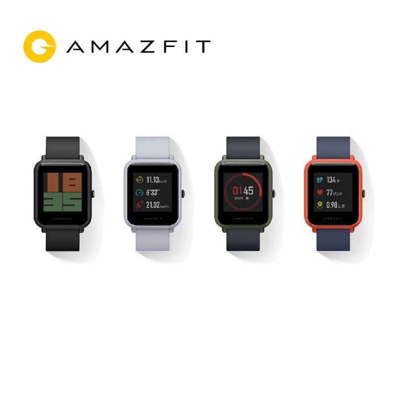 Amazfit ביפ חכם שעון [אנגלית גרסה] Huami Amazfit GPS Smartwatch עם IP68 Bluetooth 4.0 קצב לב 45 ימים סוללה