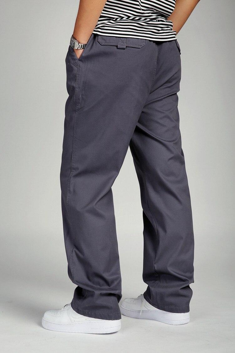 14 Лидер продаж, осенне-зимние щегольские штаны Мужские штаны-ведерки es, большие размеры, хлопковые повседневные штаны, плотные мужские брюки
