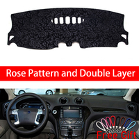 Rose Pattern For Ford mondeo 2007 2008 2009 2010 2011 2012 Car Stickers Car Decoration Car Accessories Interior Car Decals