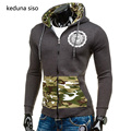 New Hot Camouflage Hoodie Men Patchwork Print Raglan Sleeve Slim Hoodies Male Sweatshirt sudadera hombre