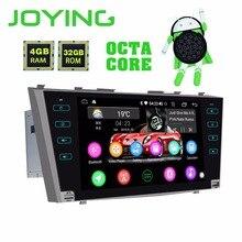 """Радуясь 9 """"2 Din gps Android 8,1 4 Гб + 32 ГБ автомобильное радио SD для Toyota Camry Aurion 2007-2011 радио gps навигация HD Octa Core DSP"""
