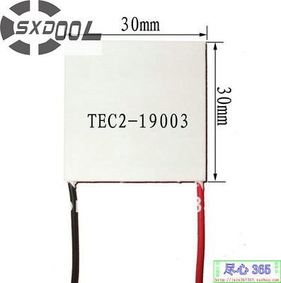SXDOOL TEC Peltier TEC2-19003 15V 30 30 6mm Thermoelectric Cooler Module Peltier Manufacturers Custom-made