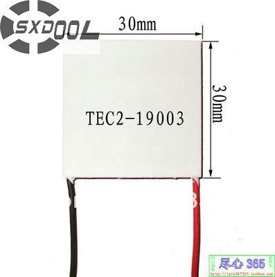 SXDOOL TEC Peltier TEC2-19003 15V 30 30 6mm Thermoelectric Cooler Module Peltier Manufacturers custom-made