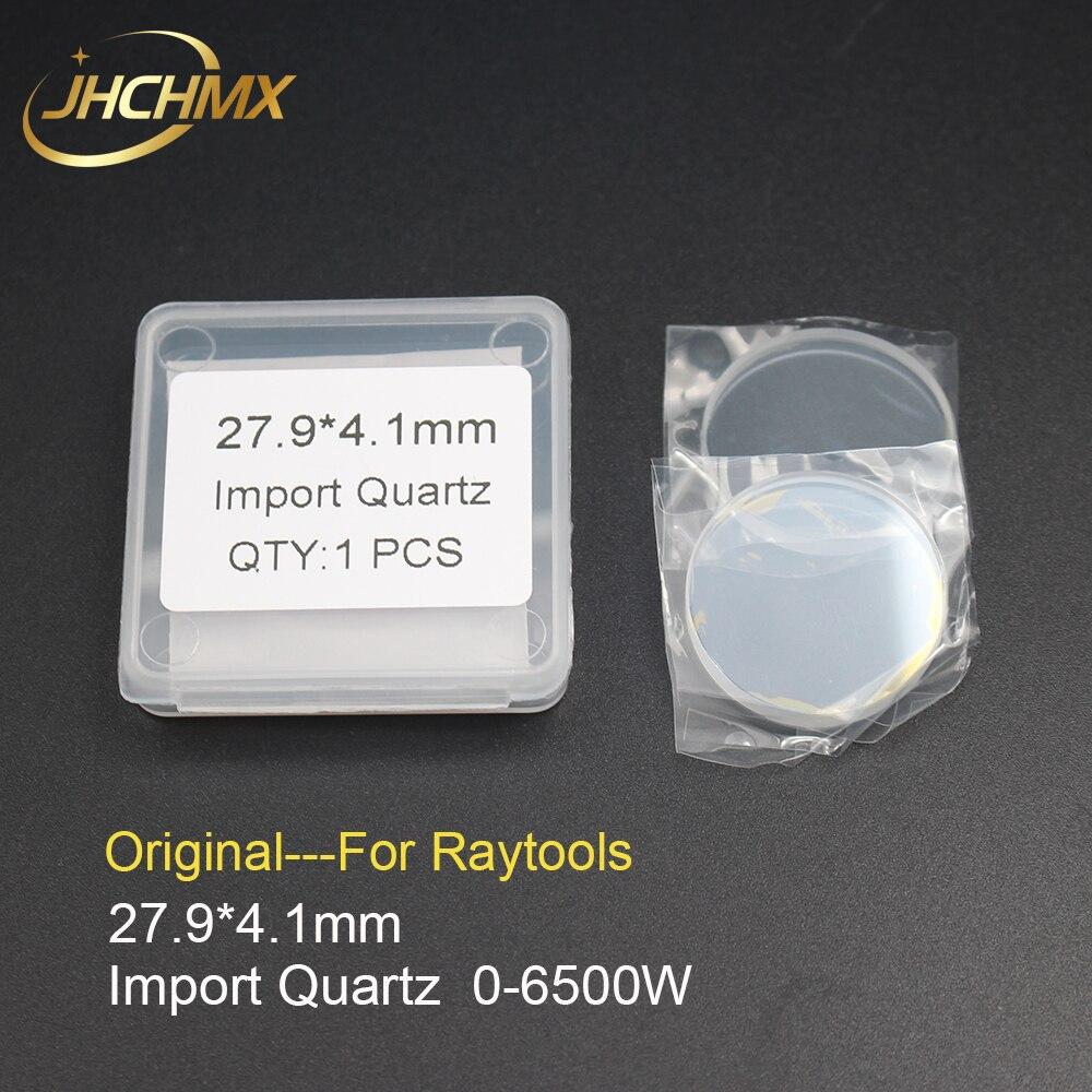 JHCHMX Original Raytools Laser Protective Lens Windows 27 9 4 1mm For 0 6500W Raytools BT240S
