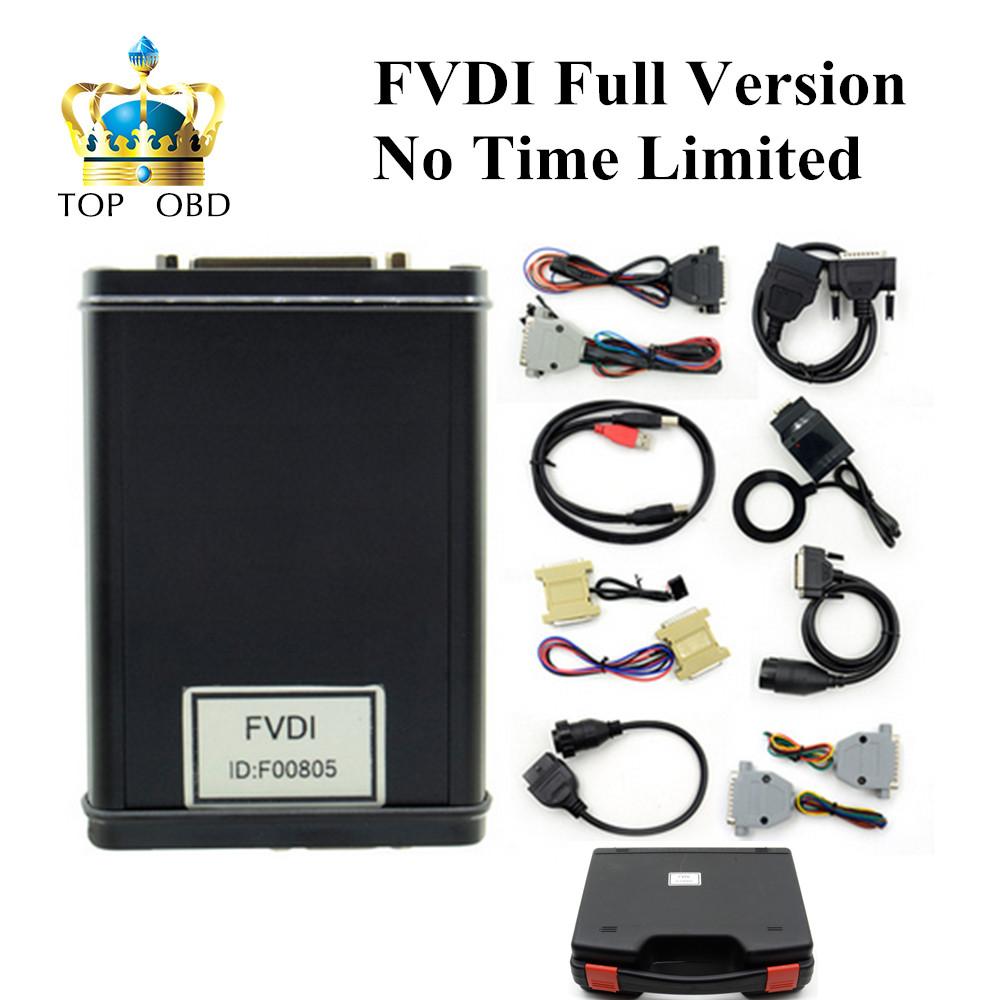 Prix pour 2017 Nouvelle Arrivée Plus Bas prix FVDI Version Complète (y compris 18 Logiciel) FVDI ABRITES Commandant FVDI Diagnostic Scanner en stock