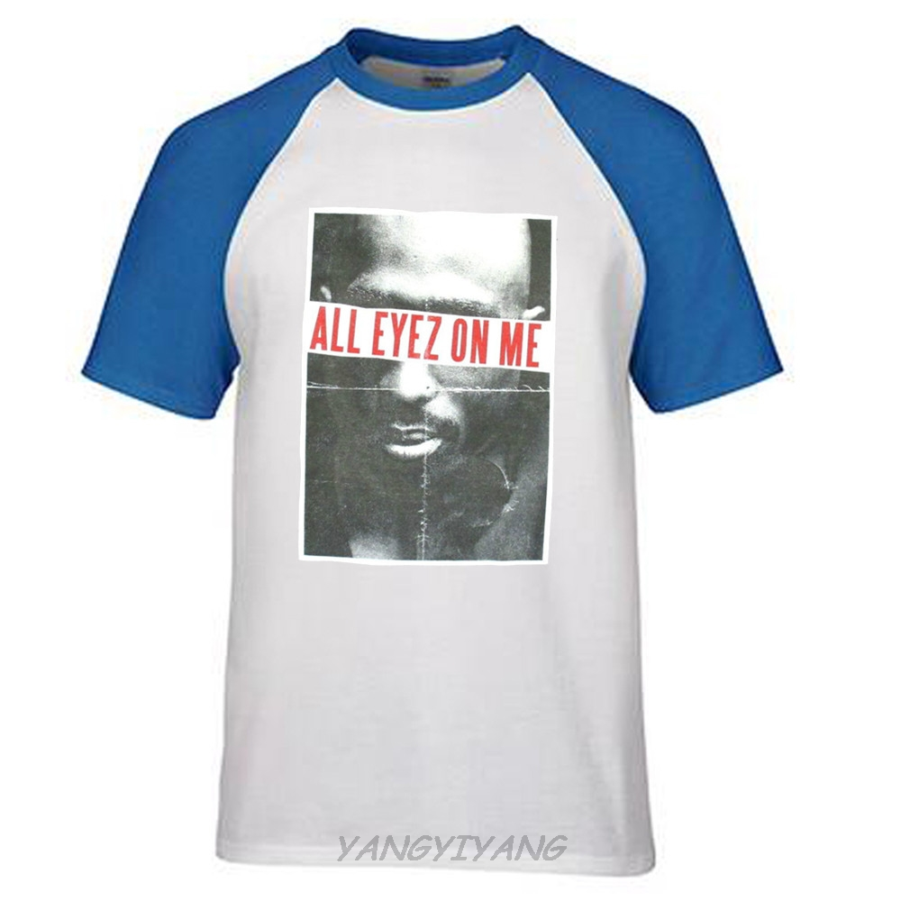e6c3b1b7a TUPAC SHAKUR ALL EYEZ ON ME HEATHER GREY T-SHIRT NEW OFFICIAL ADULT RAP  MUSIC men tee shirt brand tops