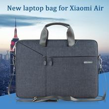 """Gearmax nouvelle pochette dordinateur pour xiaomi mi notebook air 12.5 étui pour ordinateur portable à épaulement pour xiaomi air 13 pochette pour ordinateur portable 12 """"13.3"""" pour hommes"""