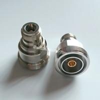1 Stks L29 7/16 DIN Vrouwelijke naar N Vrouwelijke Jack Rechte RF Coaxiale Adapter Connector