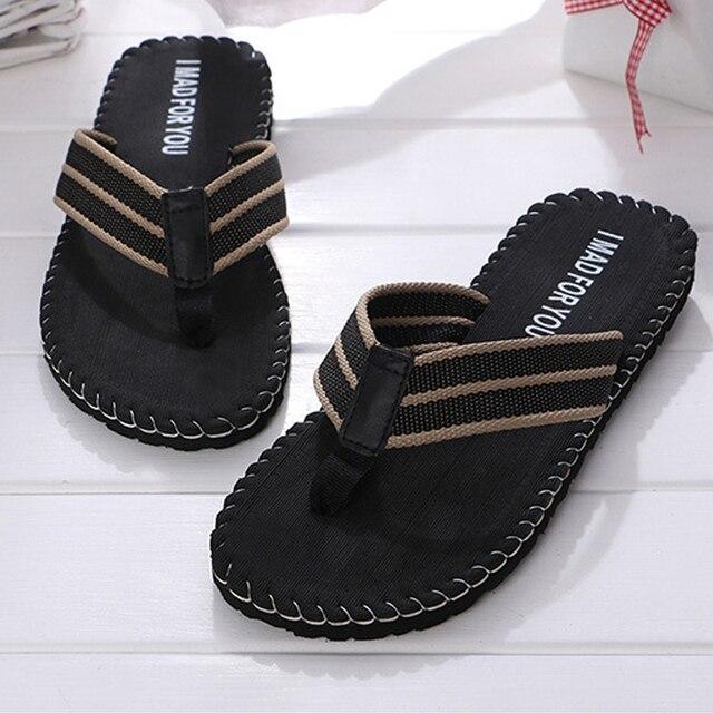b33a8d11b038f4 Brand Men s Slippers EVA Men Flip Flops Summer Classic zapatos de hombre  chaussure homme Non-slip Outdoor Beach Sandals Shoes