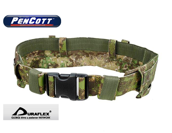 PenCott GreenZone Low Profile MOLLE Modular Rigger's Belt Military MRB Belt UTX D-FLEX Buckle(STG051095) набор aquabeads ослепительные кольца 79278