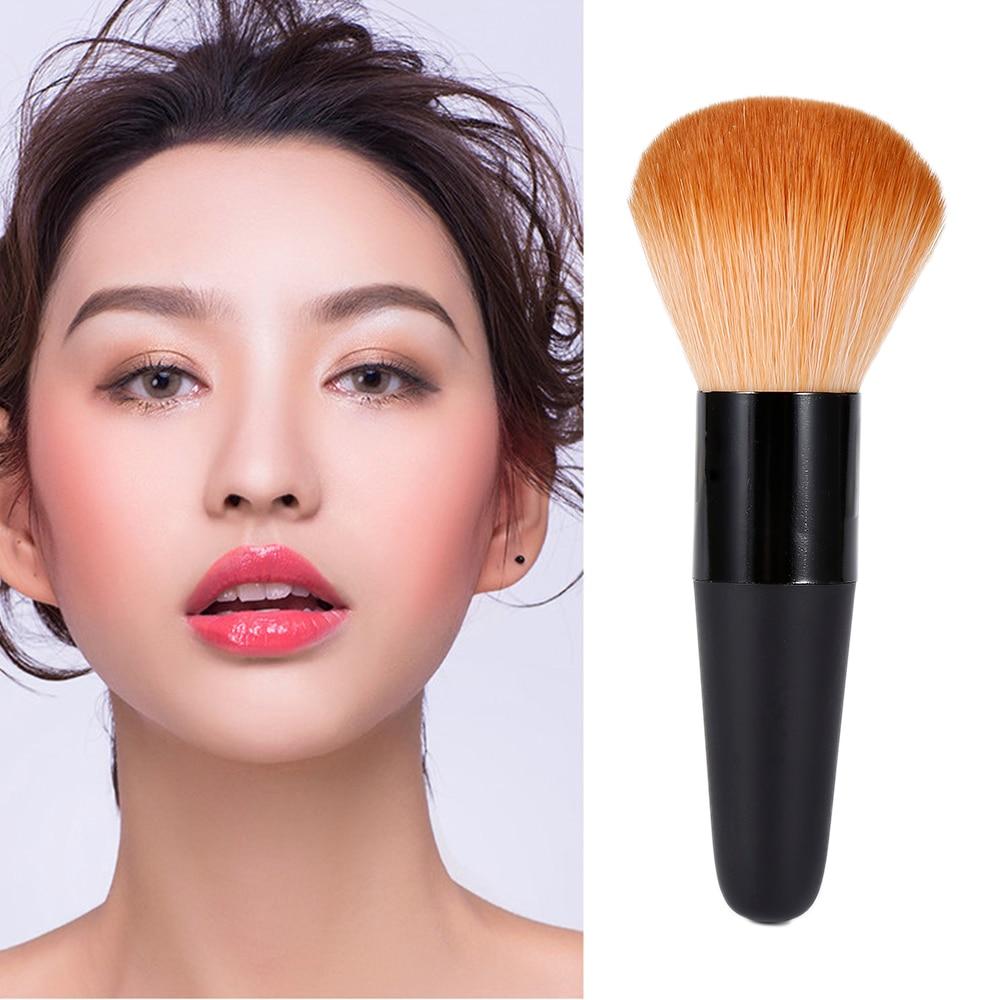 1pcs Big Loose Blush Brushes Powder Brush Super Stunning Beauty Women Face Cosmetic Make Up Tool  Professional Soft Maquillaje