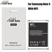 2019 PINZHENG B800BE Battery For Samsung Galaxy Note 3 Battery N900 N9006 N9005 N9000 N900A N900T N900P Battery With NFC newtop toughened glass screen protector for samsung galaxy note 3 n9000 n9005 transparent