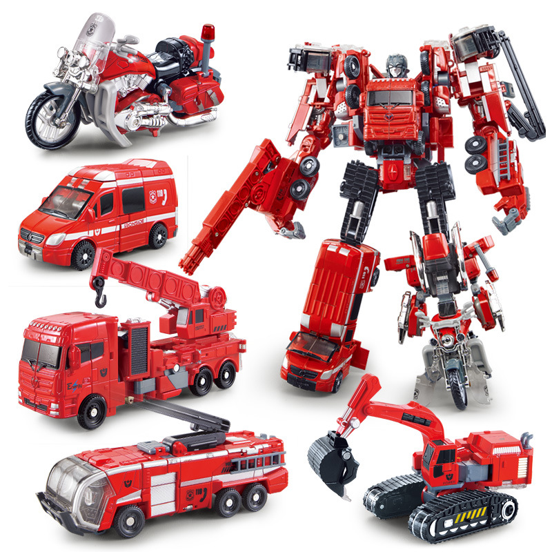 Prime Motor Group >> Original High quality 5 in 1 Combine Transformation Robot Sentinel Prime Cars Motor Alloy Robot ...