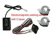 U301 электромагнитная датчик парковки, парковка Помощь, обратный датчик парковки, не скрывается не сверлить, Бесплатная доставка, с 2 ленты