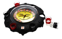 Electric Russian lucky turntable wine set KTV bar nightclub drinking game props