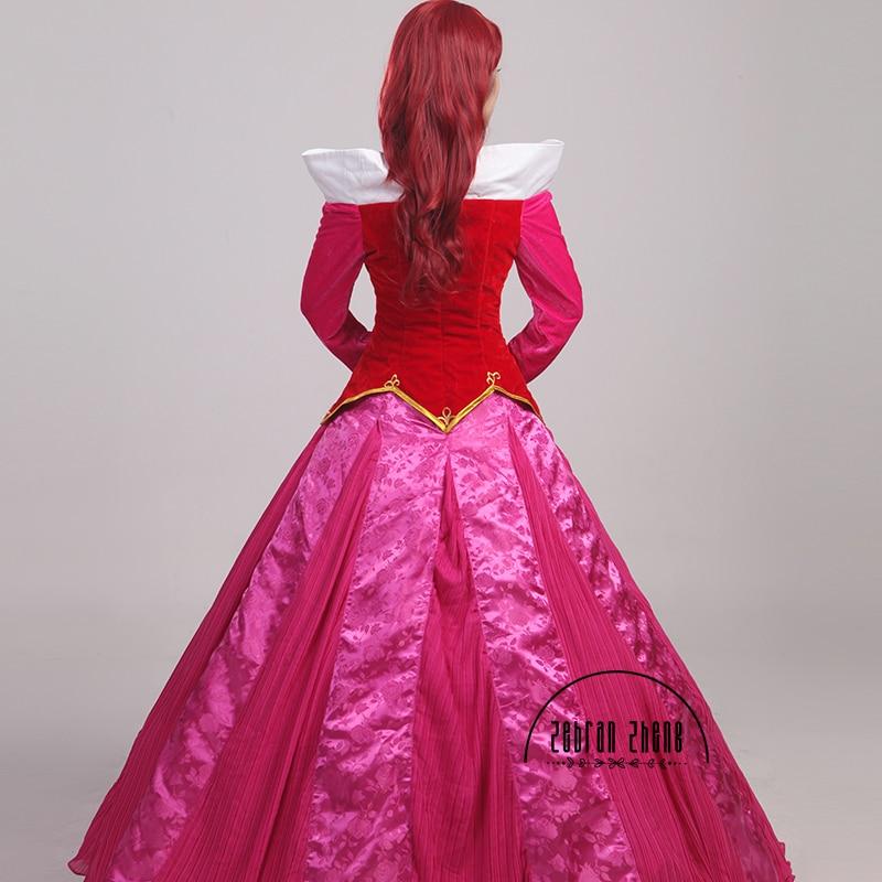 Nieuwe aankomst Doornroosje Prinses Aurora Cosplay Kostuum voor - Carnavalskostuums - Foto 5