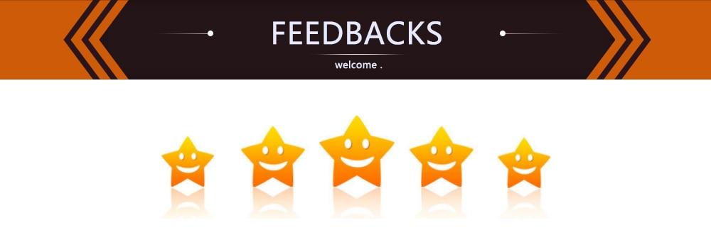 feedbacks  6