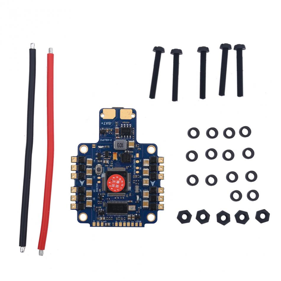 Quadcopter FPV Drone PDB 4 in 1 Flight Controller Power Hub Distribution Board RC Accessory Quadcopter Flight Controller Board f04305 sim900 gprs gsm development board kit quad band module for diy rc quadcopter drone fpv