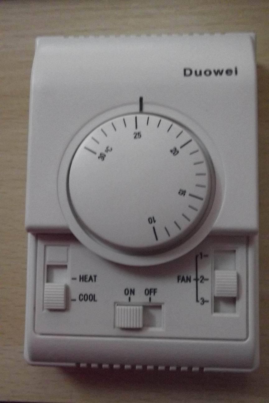 a232df7fbff40 متساوي الحرارة رفاه ذات الاستخدام المزدوج الميكانيكية مكيف هواء مركزي  ترموستات ميشنيكال التحكم في درجة الحرارة