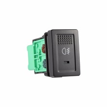 1 шт. Авто Передние противотуманные свет лампы кнопка включения подходит SX4 Swift Grand Vitara 2006-12 100% новый черный и зеленый 5 Порты
