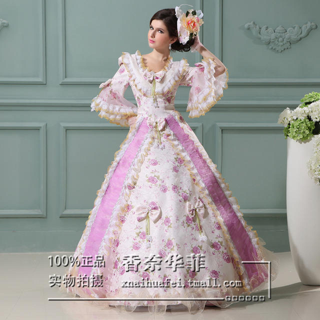 Noble Medieval Dress Princess Medieval Renaissance Ball Gown Costume ...