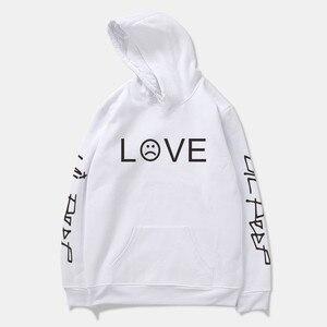 Lil Peep Hip Hop LOVE Man толстовка свитер рэпер Sad Face пуловер куртка для мальчиков новая спортивная одежда с длинным рукавом