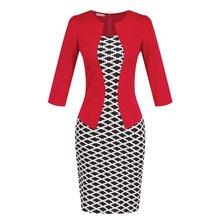 Elegant Plus Size  Pencil Dress