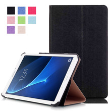 PU Leather-based Stand Case Cowl For Samsung Galaxy Tab A 7.zero T280 T281 T285 SM-T280 7″ Pill + 2Pcs Clear Display screen Protector