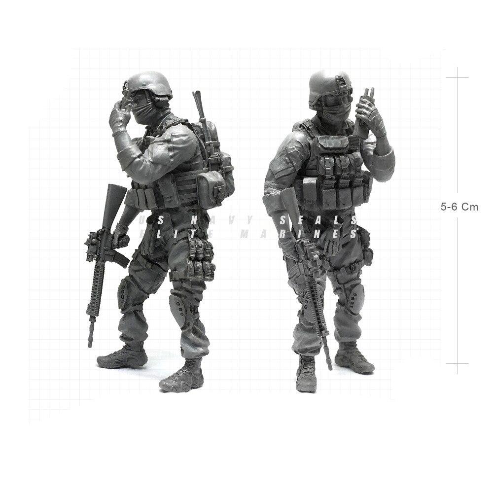 1/35 современный ВМС США уплотнения Elite десантники связавшись военнослужащего Смола Модель Рисунок NAI-05
