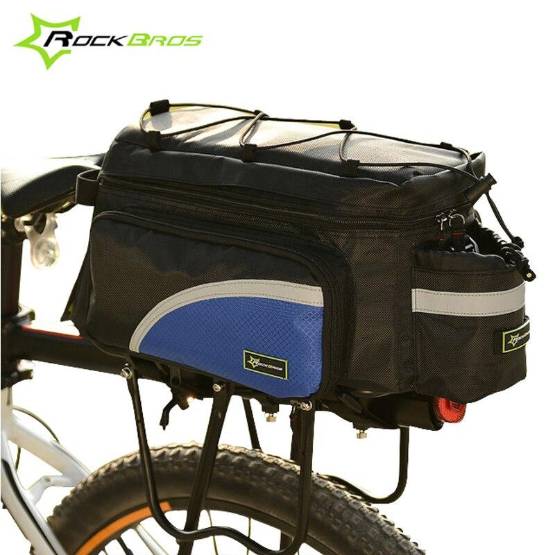 ✓Rockbros Accesorios de bicicleta gran capacidad Bolsas para ...