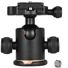 Camera Ball Head Tripod With Quick Release Plate Fits With Arca-Type Quick-Release System Max Load 8 Kg For Canon 5 D Markii I sirui va 5 fluid video head with arca swiss compatible quick release plate