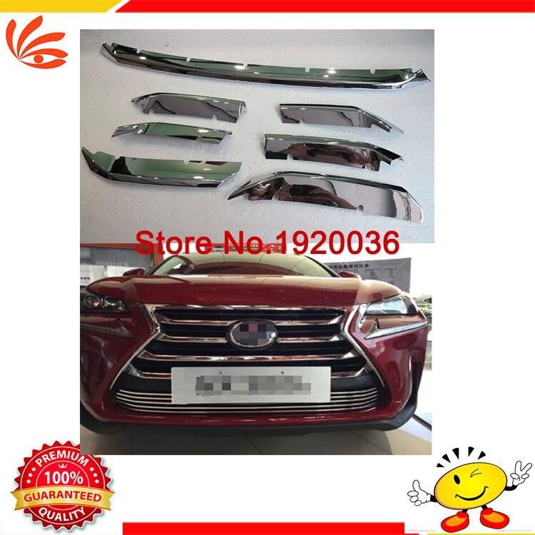 Car styling Car Front engine trim front grille trim For LEXUS NX 200T 300H ABS engine cover trim decorative cover багажник lexus nx200 200t 300h