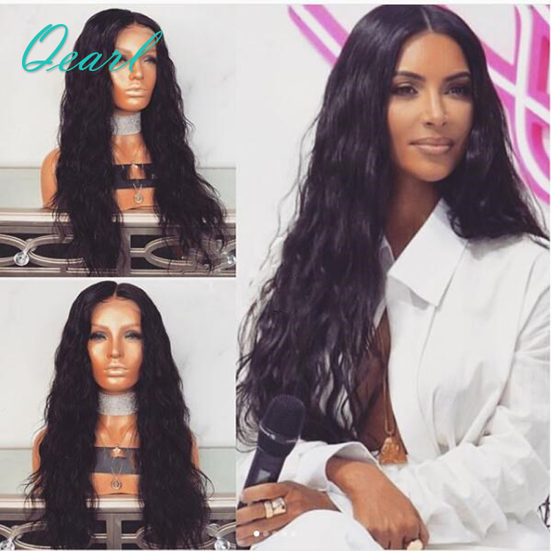 Qearl Hair Full Density Loose Wave Lace Front Human Hair Wigs Pre Plucked Natural Hairline Brazilian Remy Hair Lace Front Wig