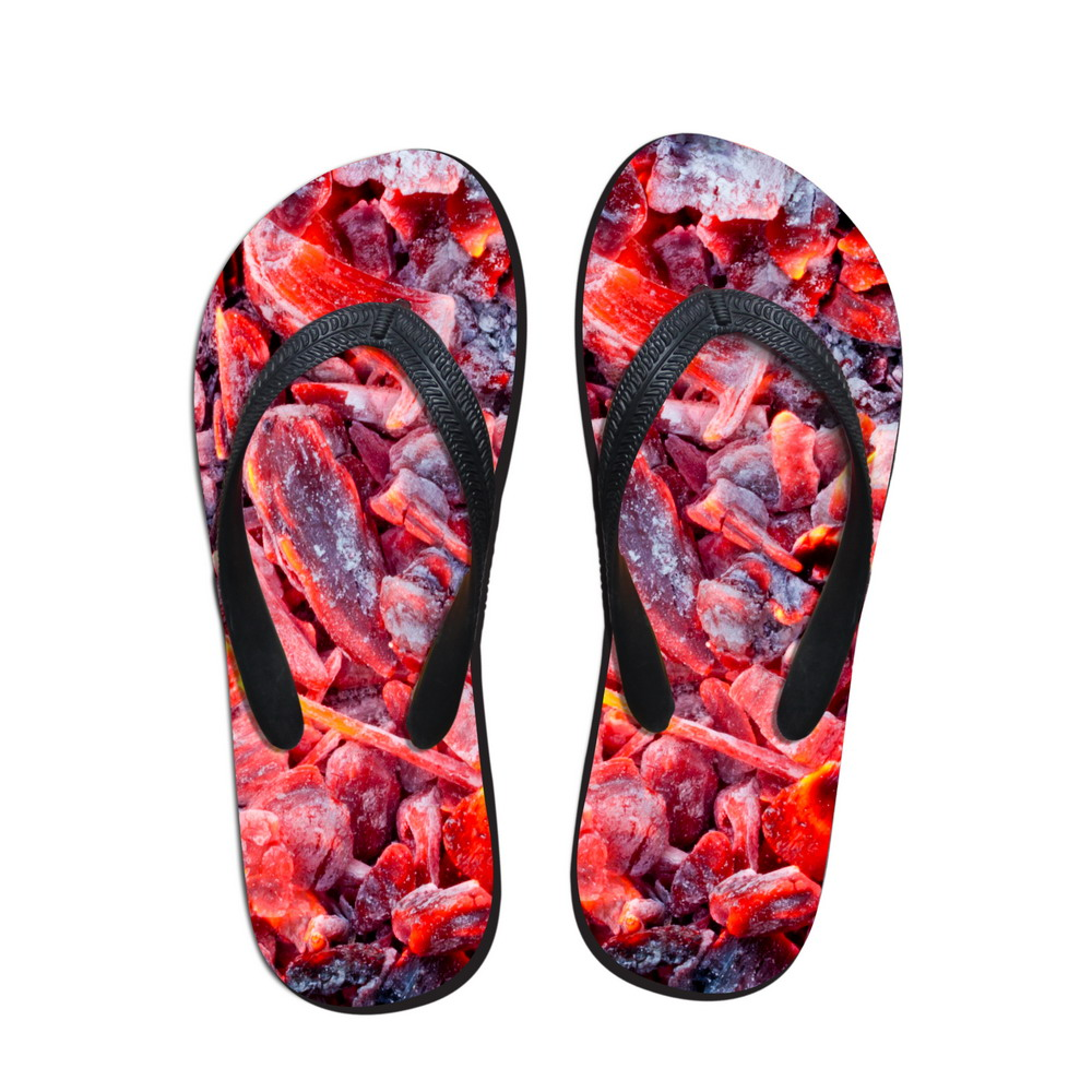Sloth Funny Dance Mens and Womens Light Weight Shock Proof Summer Beach Slippers Flip Flops Sandals