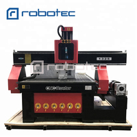 New model 3D cnc machine with rotary device 1325 cnc router 3KW spindle milling machine for sale
