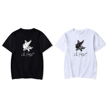 цена 2019 Summer Casual O-neck Short Sleeve T-shirts Fashion Bird Letter Print Men T Shirts Black Women Punk Rock Hip Hop Tops Tee в интернет-магазинах