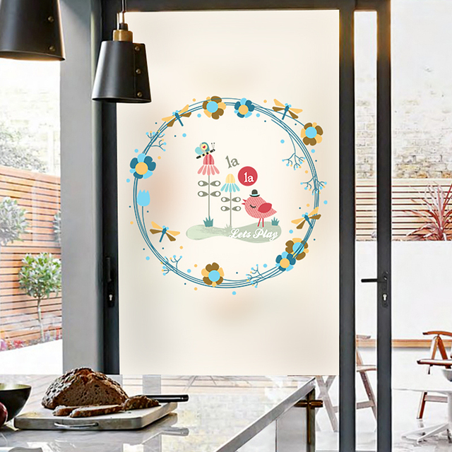 Electrostatic frosted glass film balcony window sticker window paper electrostatic frosted glass film balcony window sticker window paper glass door transparent opaque shade decoration planetlyrics Gallery