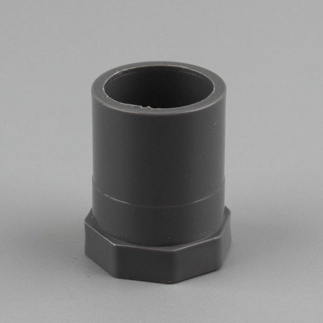 ID 20/25/32/40/50Mm Innengewinde Gerade Anschluss PVC Rohr Adapter Fisch Tank armaturen Garten Bewässerung Zubehör Nieyy