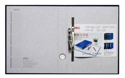 A4 картонная папка канцелярские принадлежности файл дней сбора данных мощный сшиватель 2-отверстие зажим+ с дисковым зажимом многофункциональная Двойная сила - Цвет: Черный