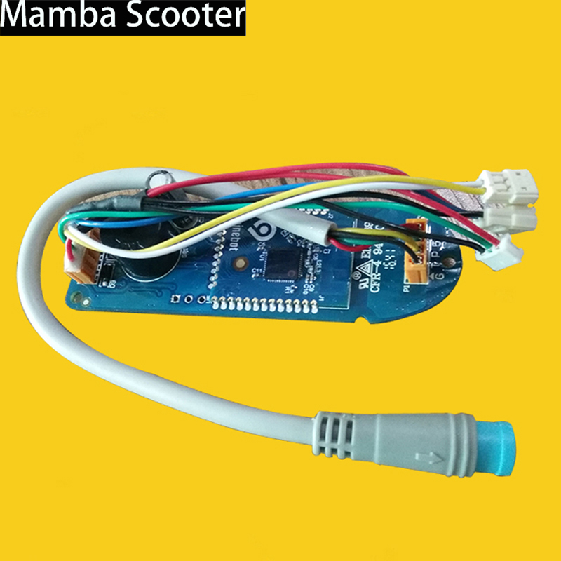 XIAOMI Mijia M365 Electric Scooter BT Instrument Circuit Board Scooter Mainboard Dashboard Controller Skateboard Replacement new bt instrument circuit board scooter mainboard dashboard controller skateboard parts for xiaomi mijia m365 electric scooter
