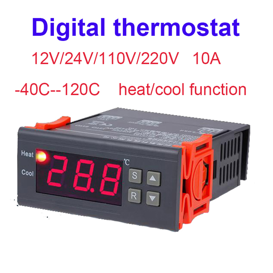 Aquarium Controller 10 Steps With Pictures: Digital Thermostat Temperature Controller Aquarium Thermal