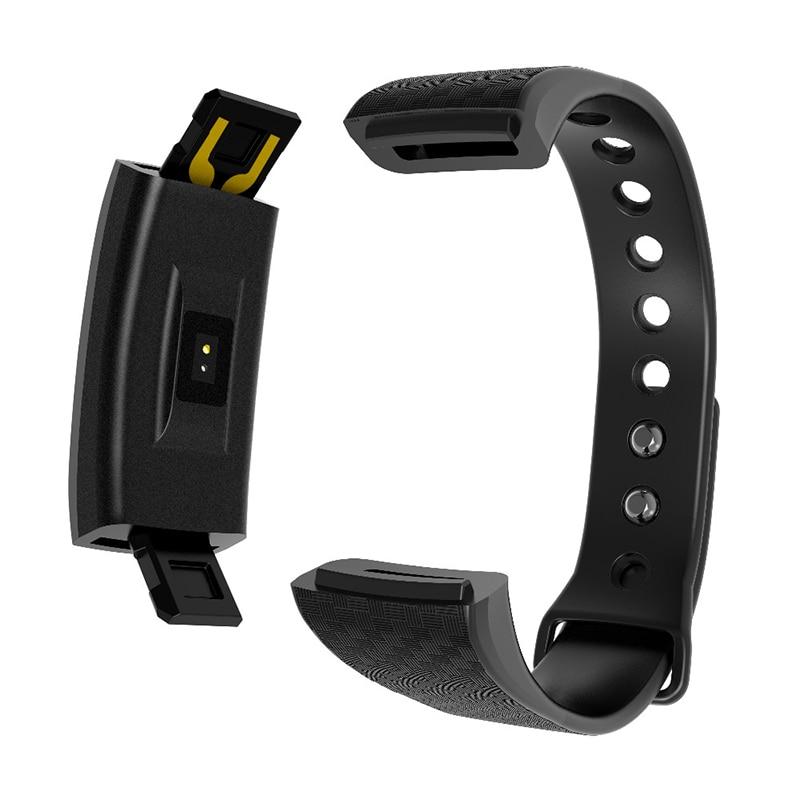 New Arrival Smart Fitness Bbracelet Intelligent Heart Rate Blood Pessure Monitor Activity Tracker Wristband for HEINO R17