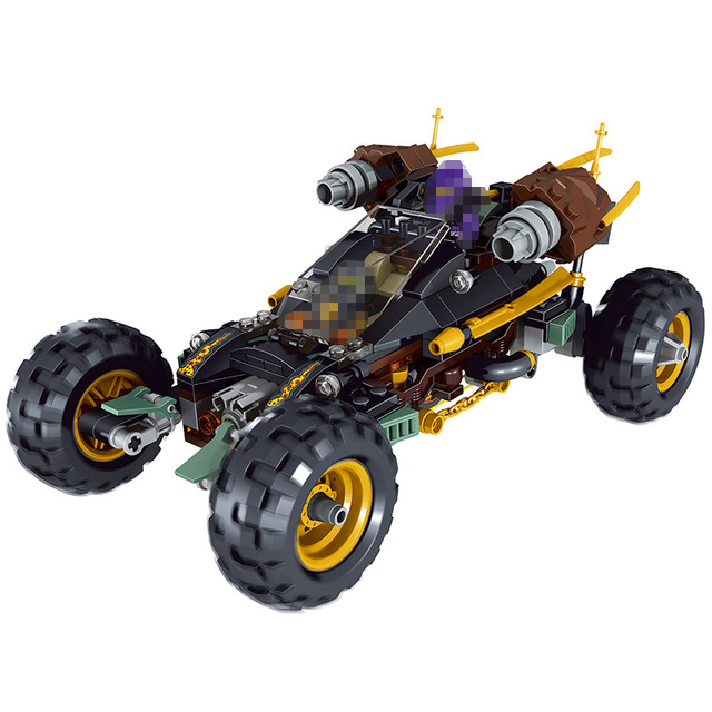 Lele ninja technic model building blocks compatible - Lego ninjago voiture ...