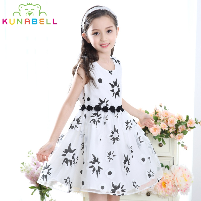 Brand Flower Girls Wedding Birthday Party Pageant Communion Dress Infant Tutu Baby Princess Little Girls Vestidos Clothes D18 baby girl infant 3pcs clothing sets tutu romper dress jumpersuit one or two yrs old bebe party birthday suit costumes vestidos