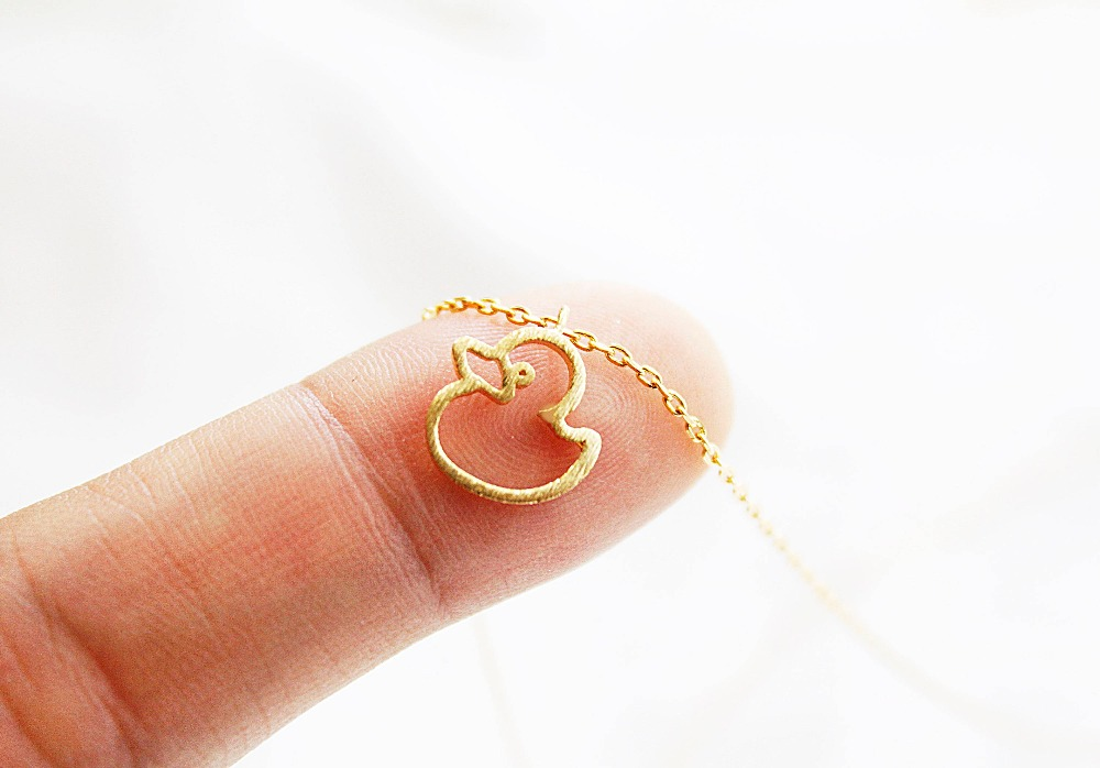 Swan Necklace ALP Daisies Cute Duck Duckling Pendant Animal Swan Necklace For Women &  Children Gift -in Pendant Necklaces from Jewelry & Accessories on  Aliexpress.com ...
